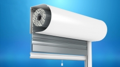 The front mounted OL2000® shutter with a mosquito net
