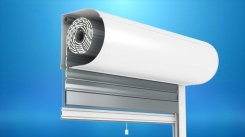The front mounted OS2000® shutter with a mosquito net